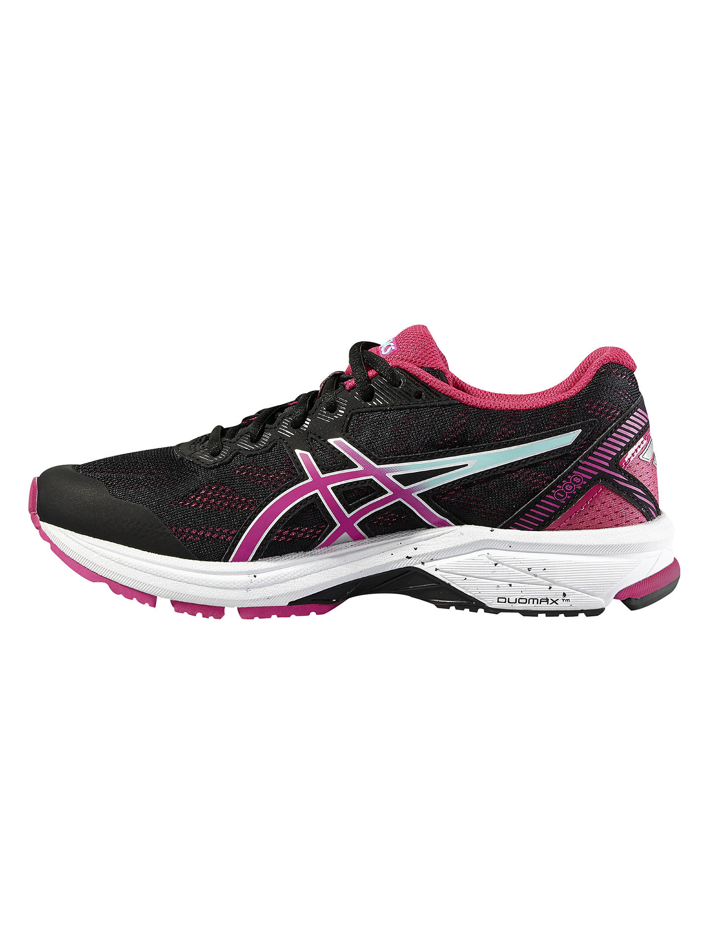 Asics GT 1000 5 Womens Pink Support Running Road Sports Shoes Trainers Pumps