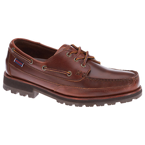 Buy Sebago Vershire 3 Eyelet Shoes, Brown Online at johnlewis.com