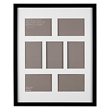 buy john lewis multi aperture box photo frame 7 photo 4 x 6