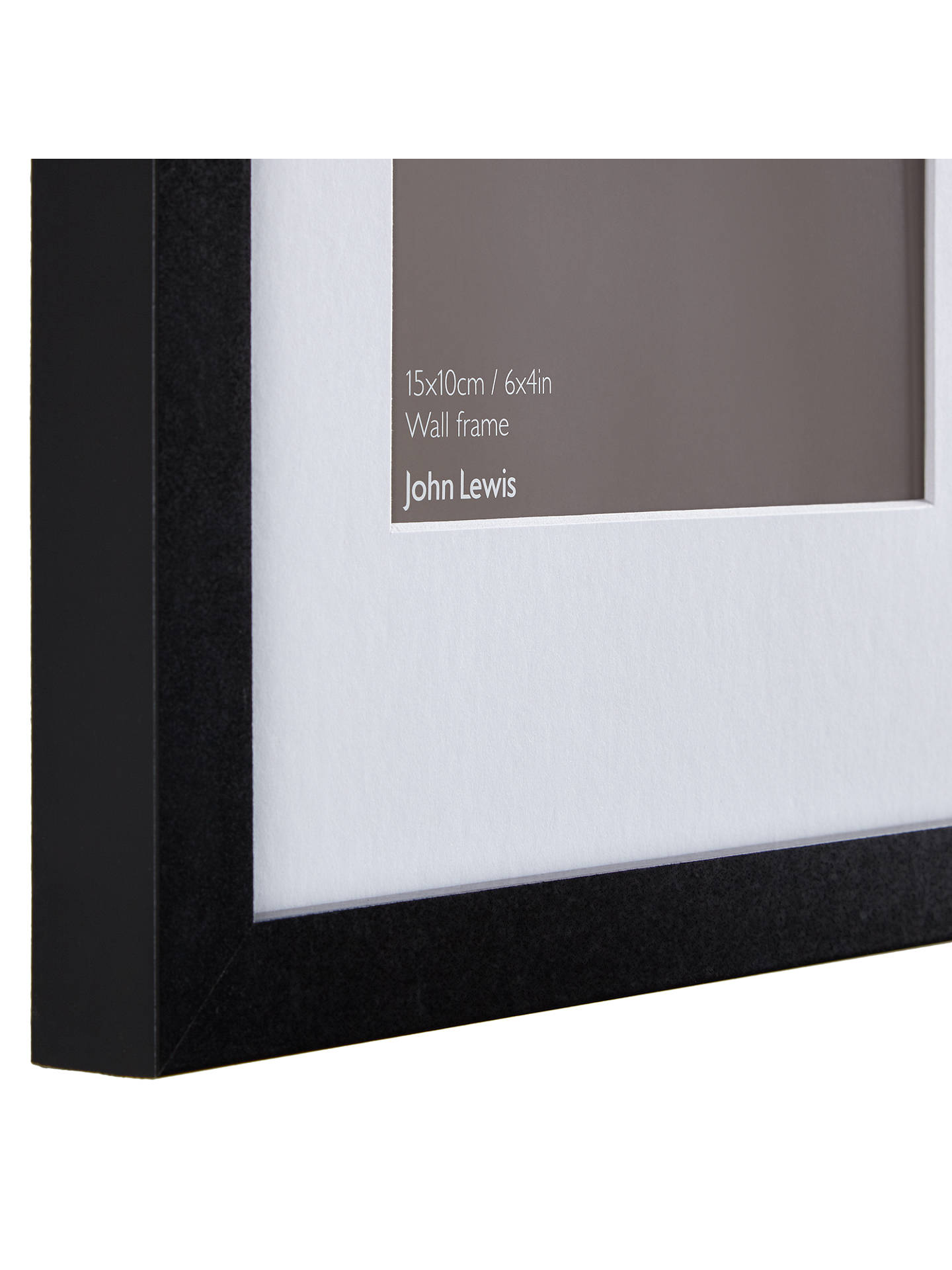 John Lewis Multi-aperture Box Photo Frame, 7 Photo, 4 x 6\