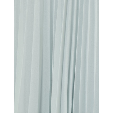 Buy Reiss Rafa Pleated Maxi Skirt, Grey/Blue Online at johnlewis.com