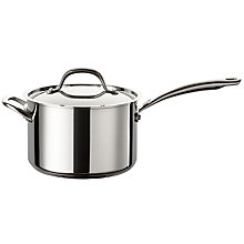Buy Circulon Ultimum Stainless Steel Saucepan Online at johnlewis.com