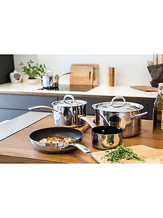 Circulon Ultimum Stainless Steel Pan Cookware