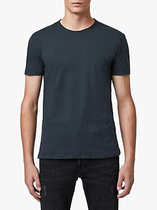 AllSaints Figure Crew Neck T-Shirt, Ink Navy