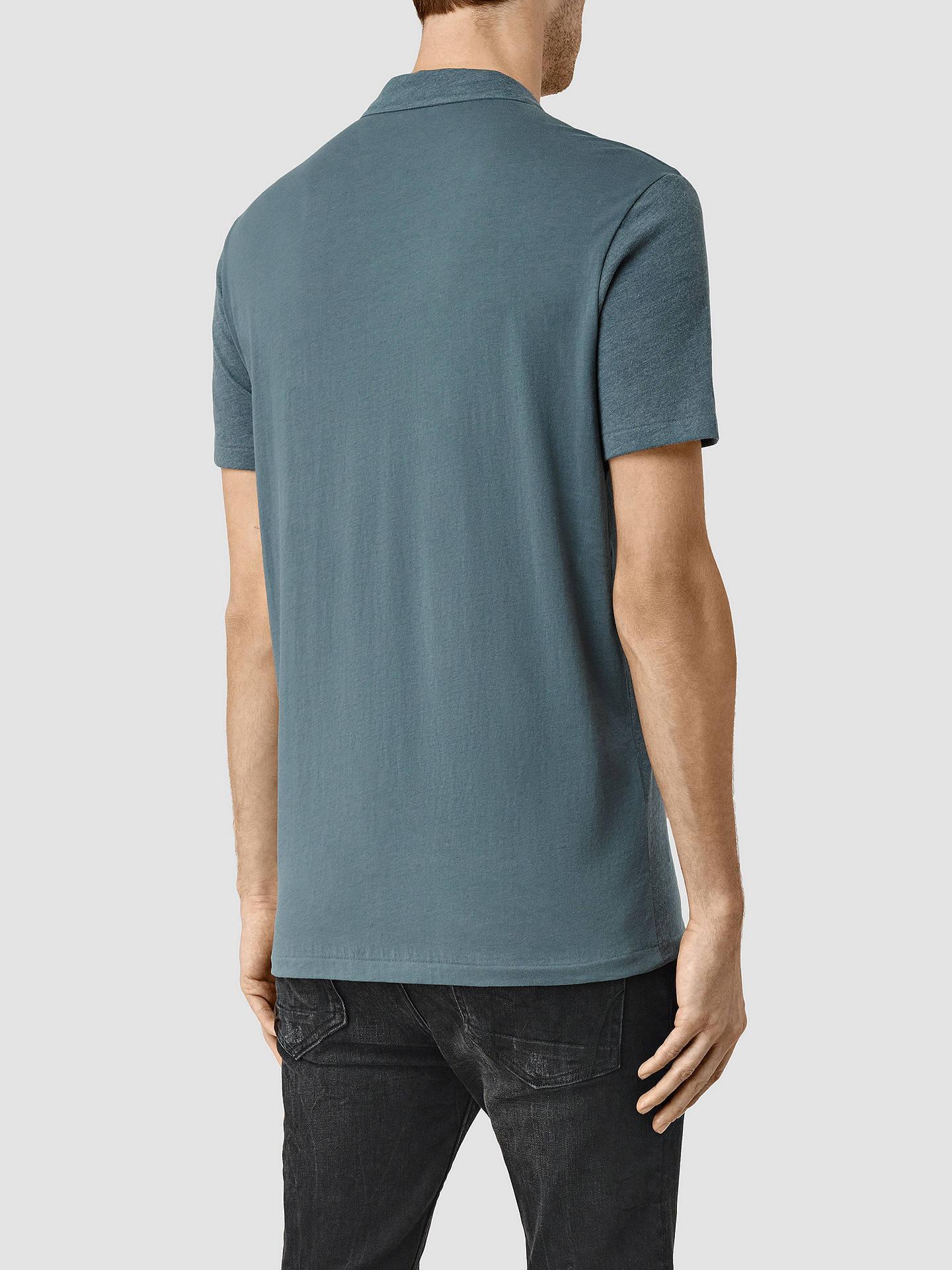 am besten bewertet neuesten niedrigster Rabatt attraktiver Preis AllSaints Tonic Panel Polo Shirt at John Lewis & Partners