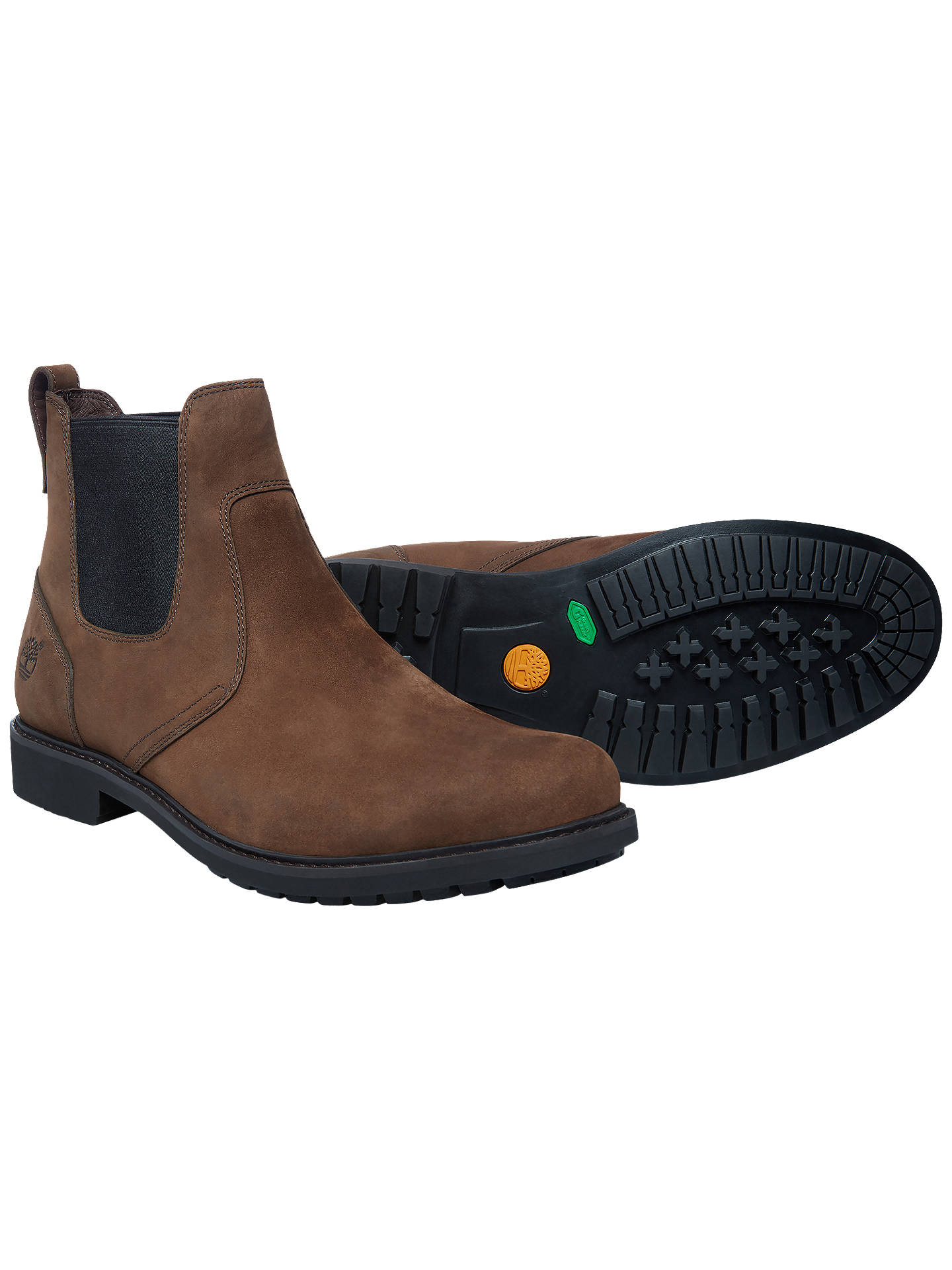 Buy Timberland Stormbuck Waterproof Chelsea Boots, Dark Brown, 8 Online at johnlewis.com