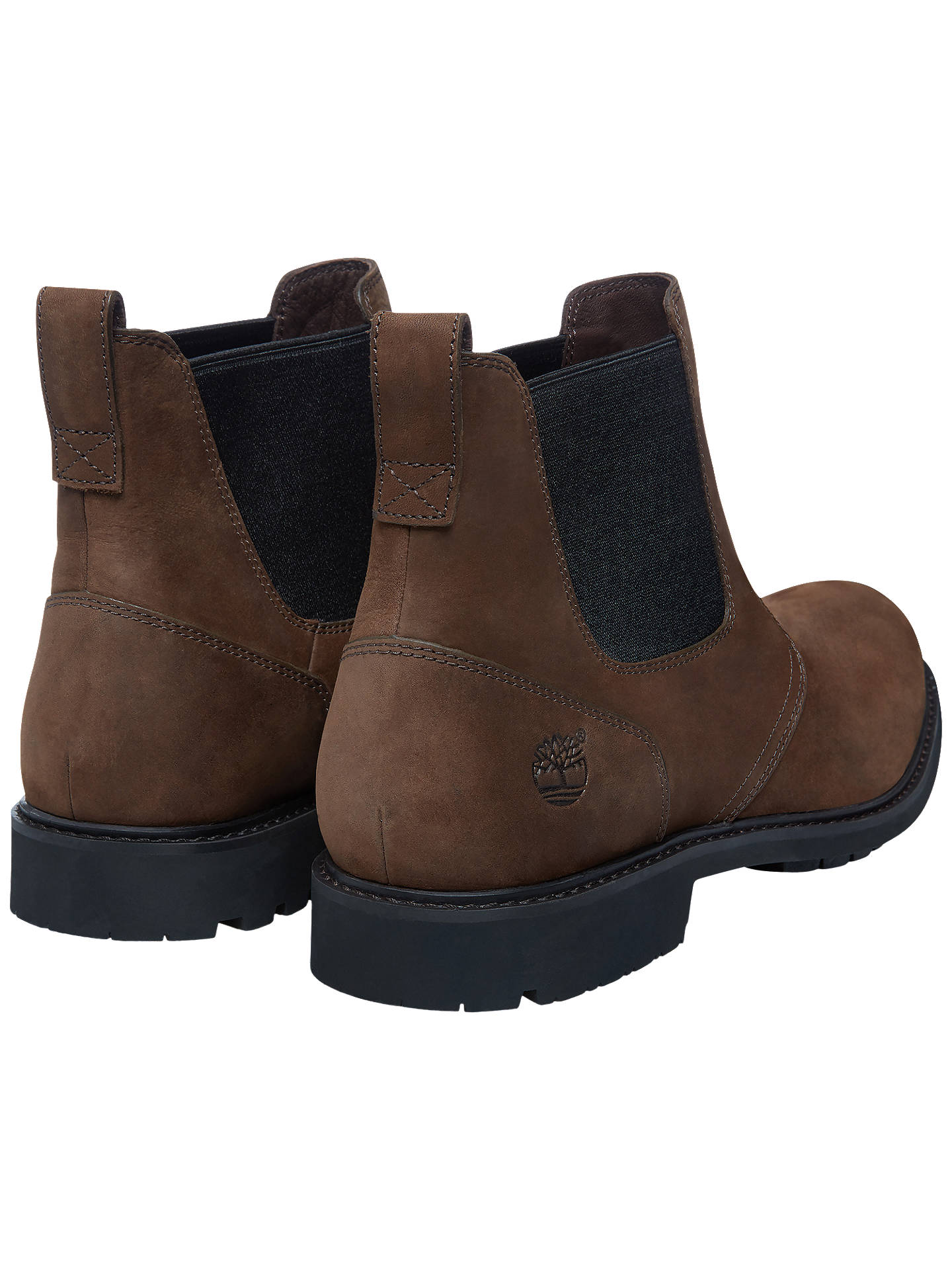 427db75c254 Timberland Stormbuck Waterproof Chelsea Boots, Dark Brown at John ...