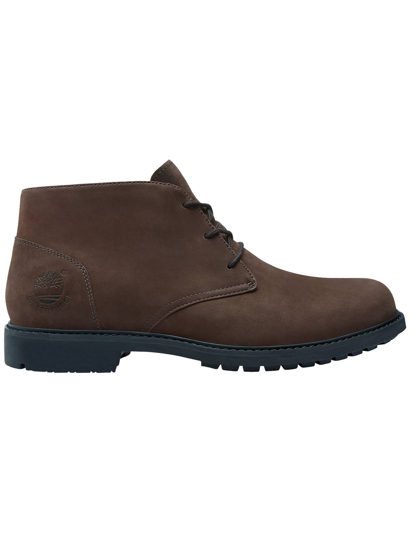 Timberland Stormbuck Waterproof Chukka Boots, Dark Brown at