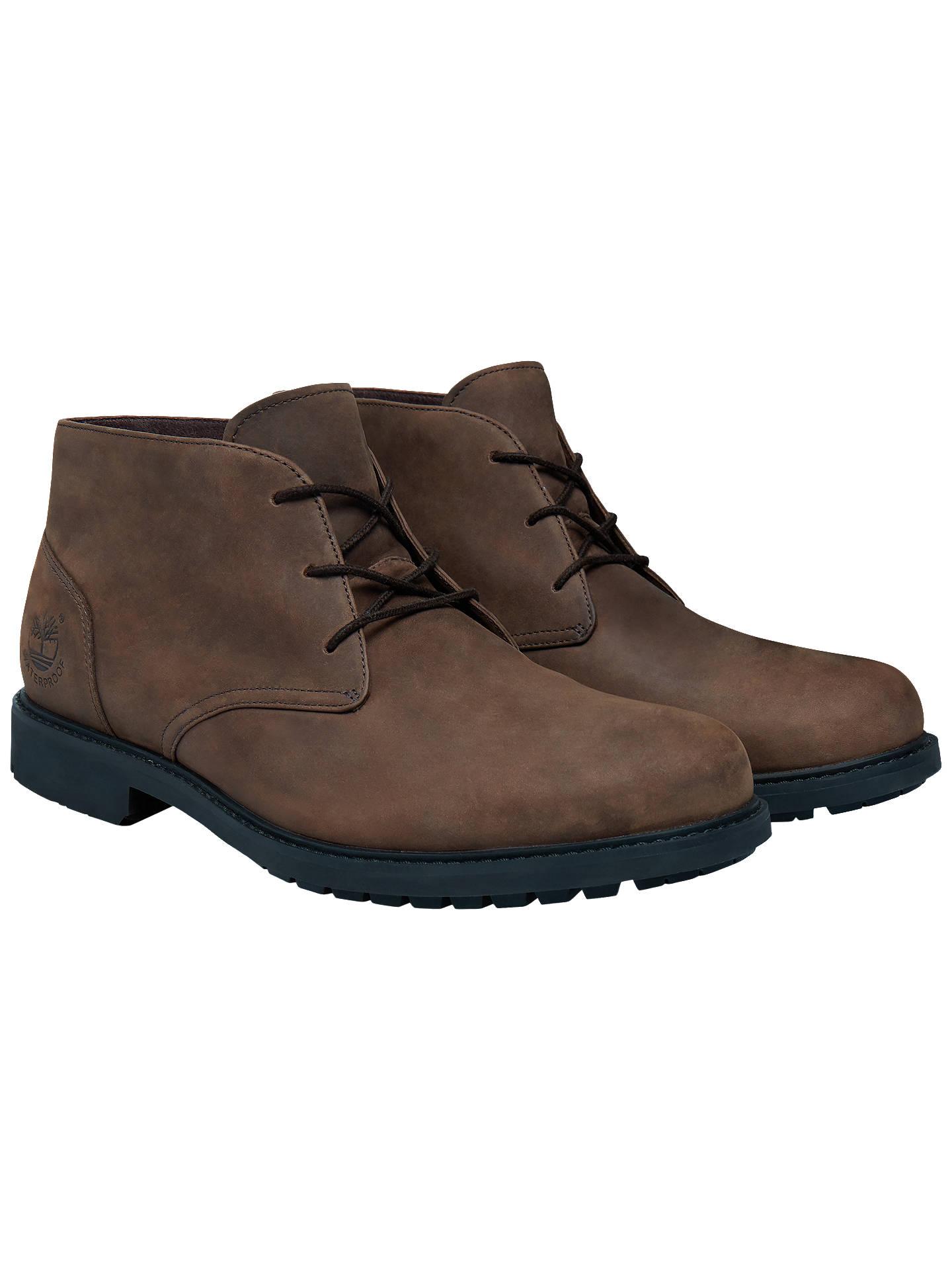 Timberland Stormbuck Waterproof Chukka Boots Dark Brown At John