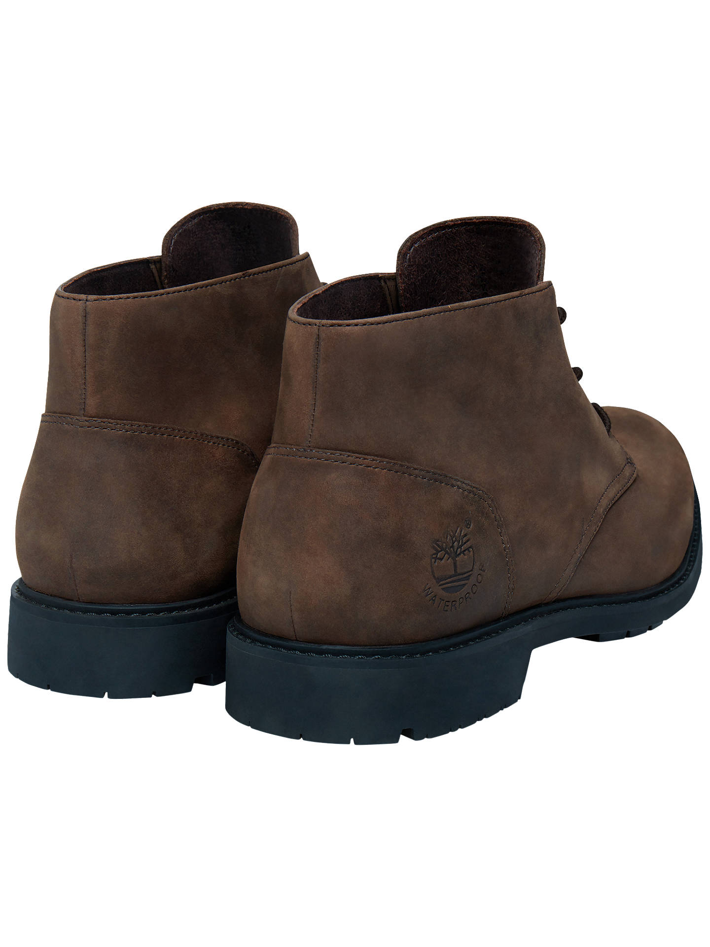 Timberland Stormbuck Waterproof Chukka Boots, Dark Brown at