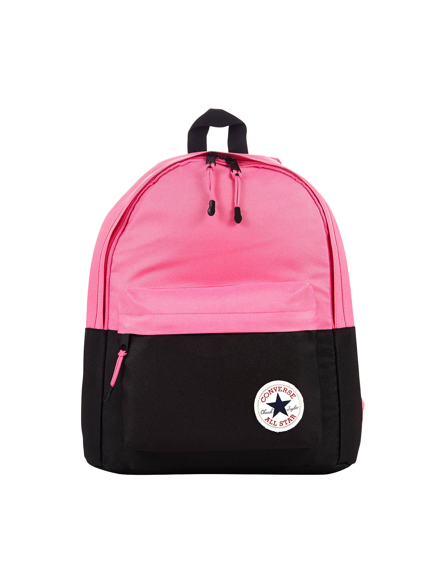 fc91b296756 Buy Converse Children's Colour Block Backpack, Pink/Black, One Size Online  at johnlewis ...