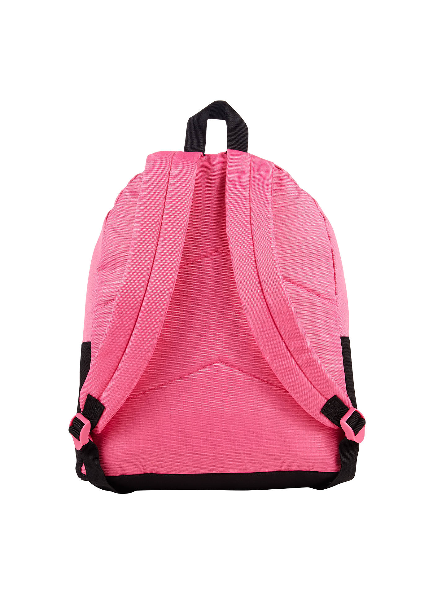 Converse Childrens Colour Block Backpack Pink Black At John Lewis Buyconverse One Size Online Johnlewis