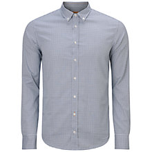 Buy BOSS Orange Edipoe Shirt, Dark Blue Online at johnlewis.com