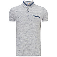 Buy BOSS Orange Pyx Polo Shirt, Pastel Grey Online at johnlewis.com