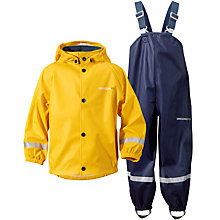 Buy Didriksons Children's Slaskeman Waterproof Storm Suit Set Online at johnlewis.com