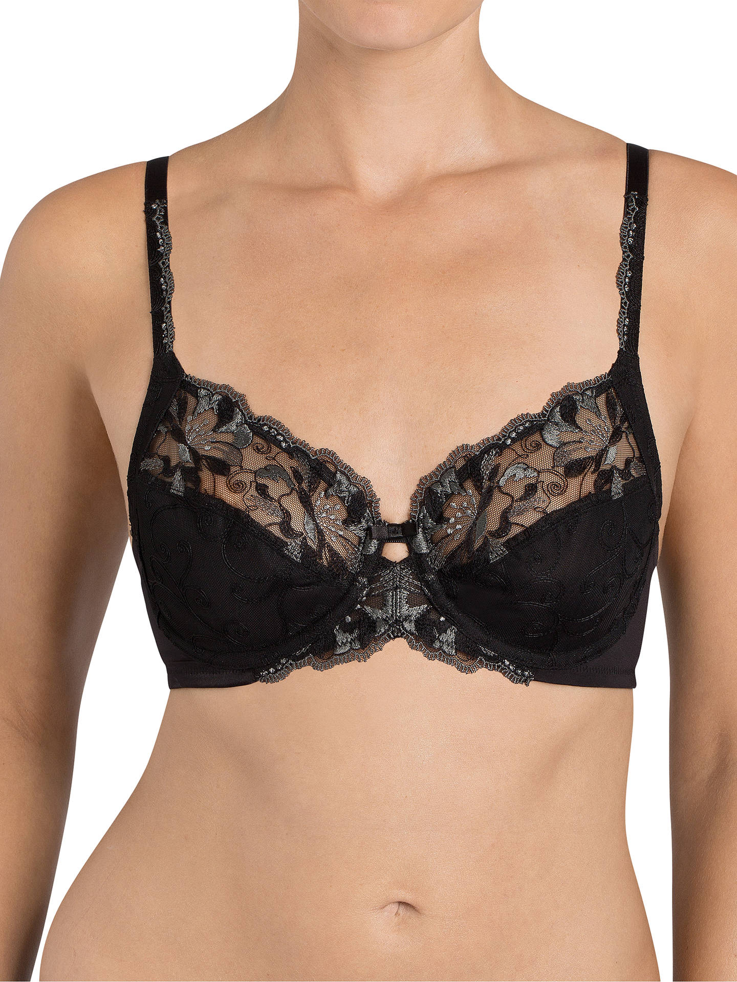 b3e4a74ee7454 Triumph Modern Bloom Underwired Bra at John Lewis   Partners