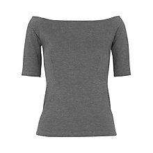 Buy Whistles Short Sleeve Bardot Top Online at johnlewis.com