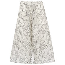Buy Whistles Marrion Full Lace Skirt, Ivory Online at johnlewis.com