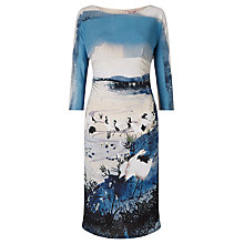 Buy Phase Eight Landscape Print Dress, Multi Online at johnlewis.com