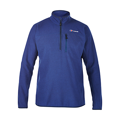 Berghaus Stainton Half Zip Men's Fleece, Blue