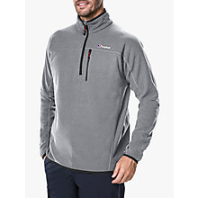 Buy Berghaus Stainton Half Zip Men's Fleece, Grey Online at johnlewis.com