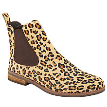 Buy John Lewis Page Slip On Ankle Boots, Leopard Online at johnlewis.com