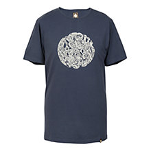 Buy Pretty Green Logo T-Shirt, Navy Online at johnlewis.com