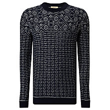 Buy Selected Homme Rupert Crew Neck, Navy Online at johnlewis.com