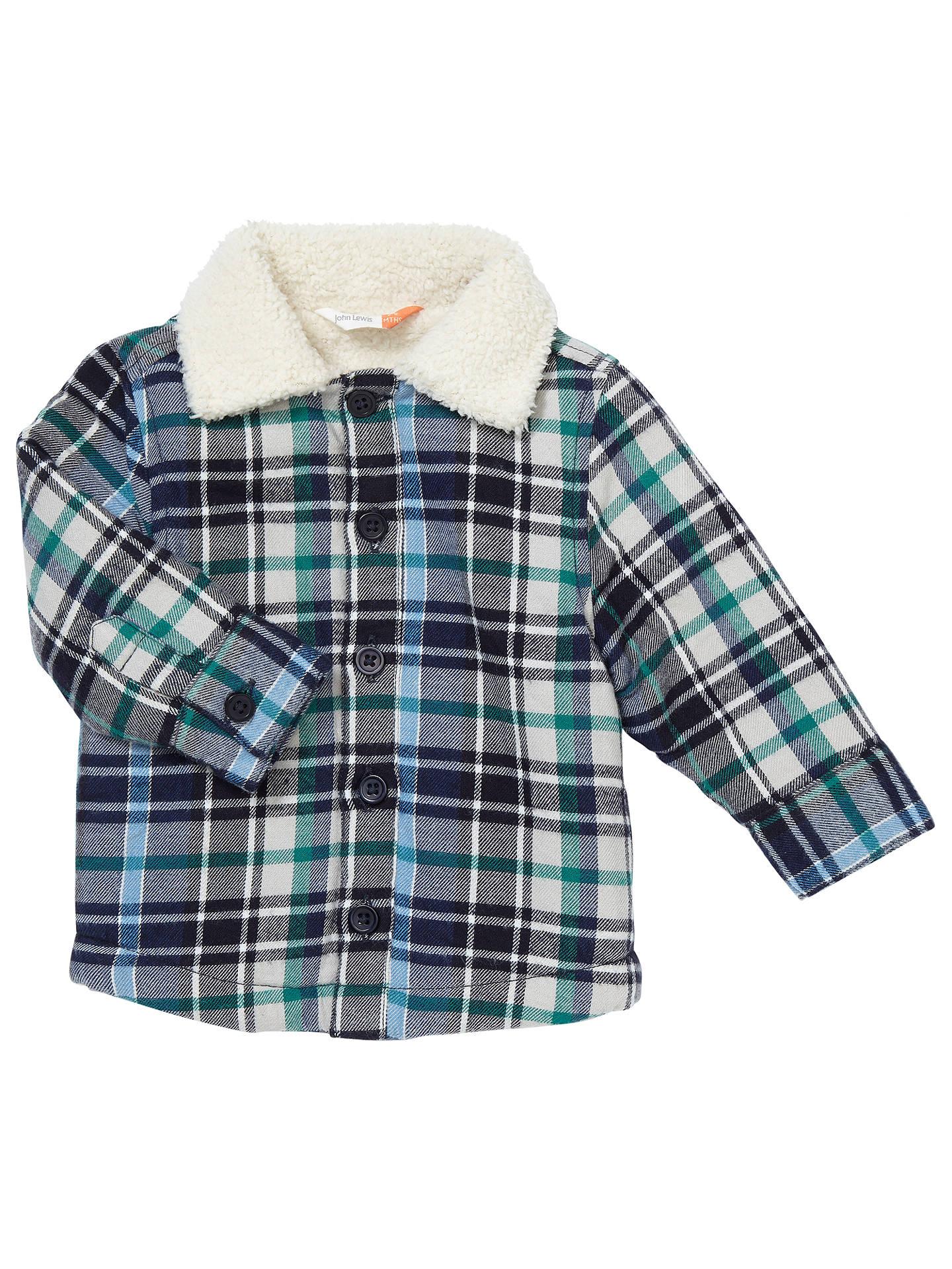 1755995c0 John Lewis Baby Check Lumberjack Jacket