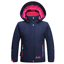 Buy Skogstad Girls' 2 Layer Insulated Waterproof Jacket, Peacoat Online at johnlewis.com
