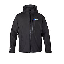 Buy Berghaus Island Peak Men's Waterproof Jacket, Black Online at johnlewis.com