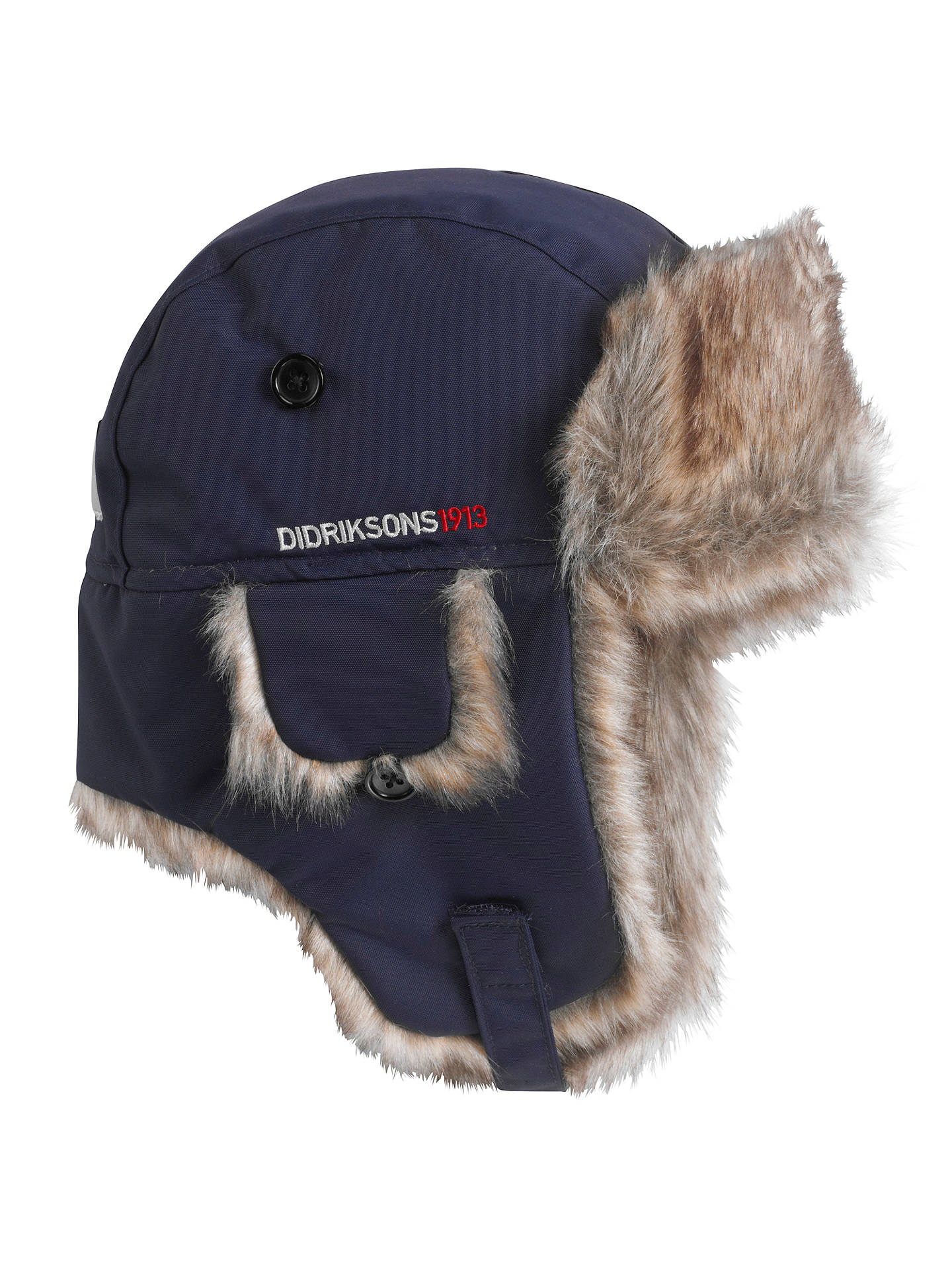 fcf75408bfa6d Didriksons Children s Helge Waterproof Trapper Hat at John Lewis ...