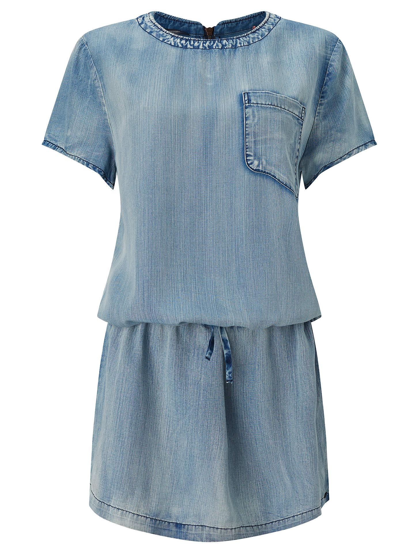570e483124 Buy Maison Scotch Drop Waist Denim Dress