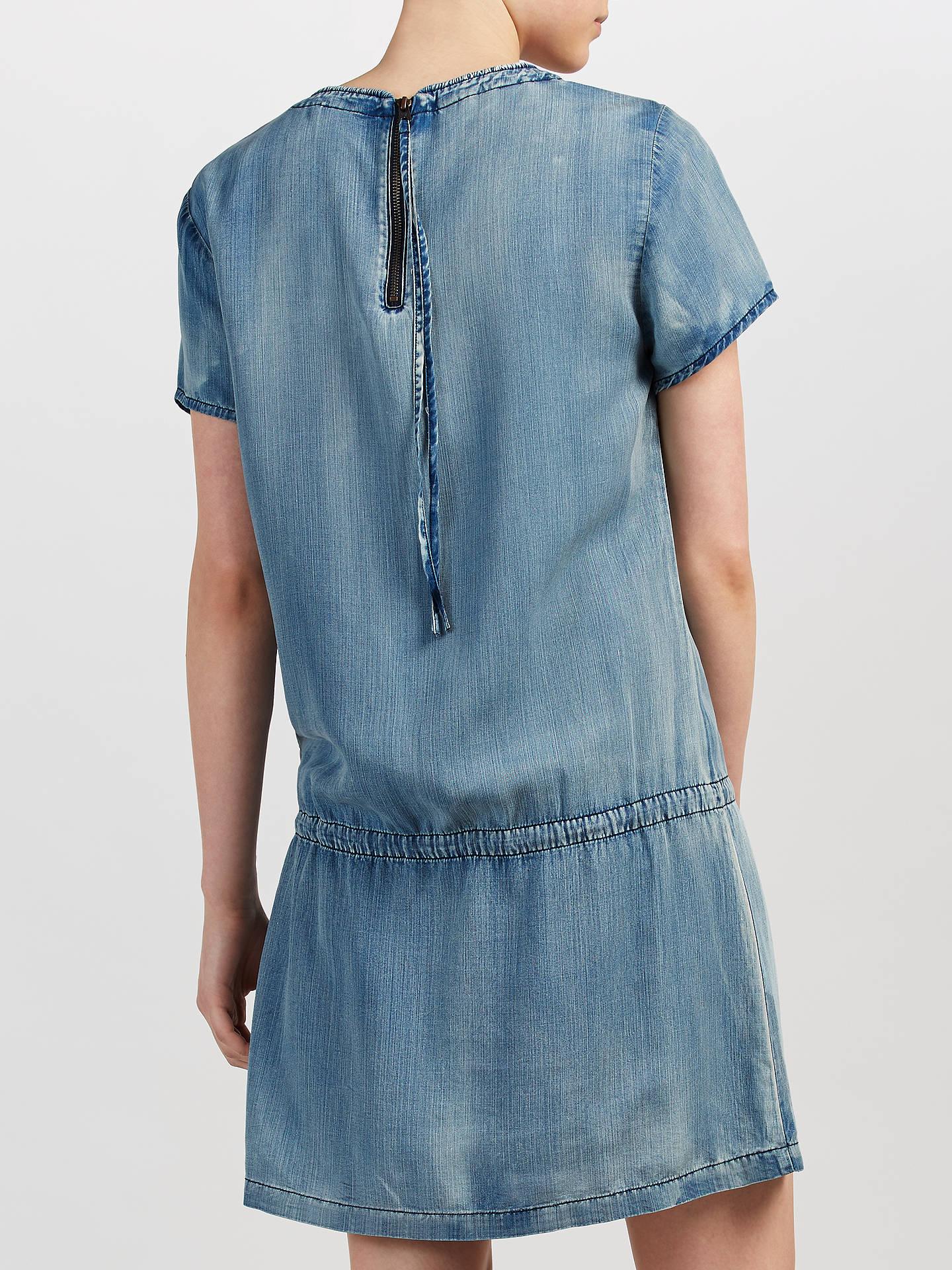 e1c19f291f ... Buy Maison Scotch Drop Waist Denim Dress