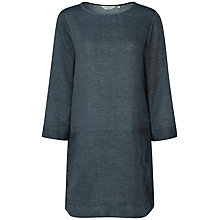 Buy Seasalt Alex Tor Tunic Dress, Dark Indigo Online at johnlewis.com