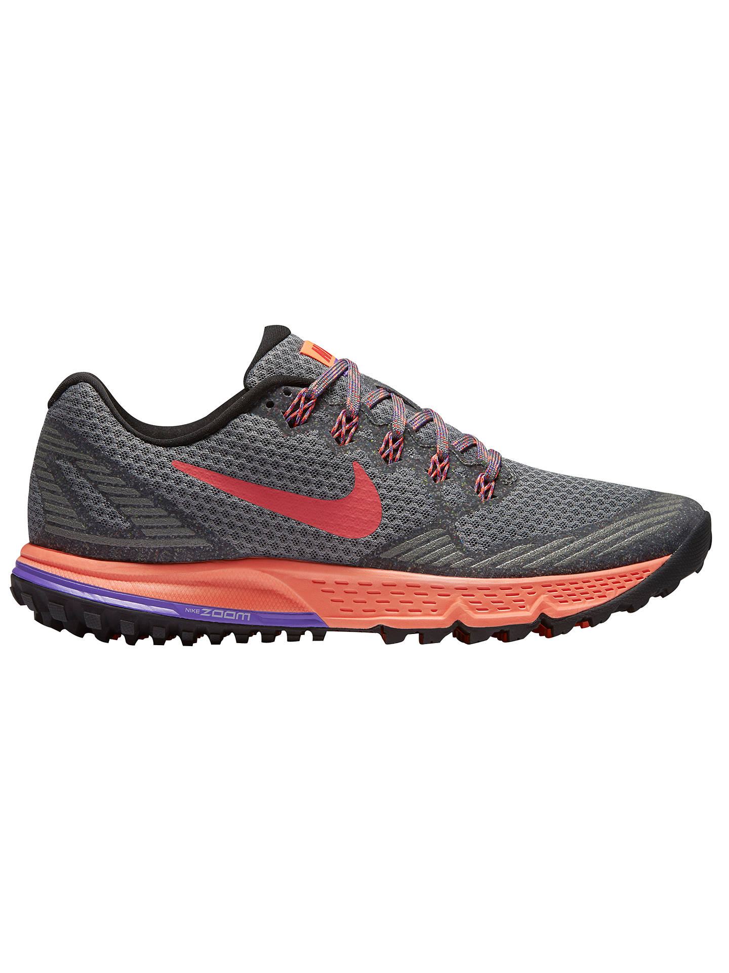 fafff6e9aa5db Nike Air Zoom Wildhorse 3 Women s Running Shoes at John Lewis   Partners