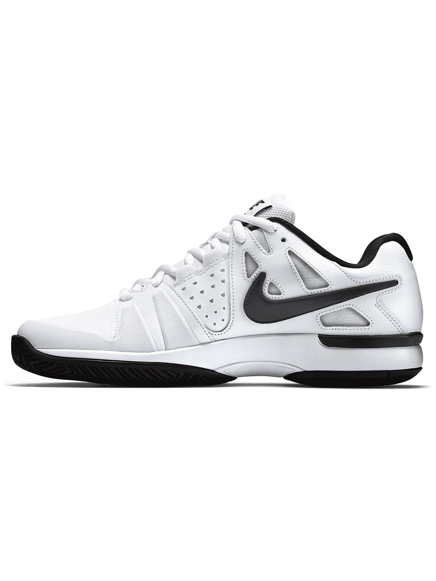 4e075342ad2e ... Buy Nike Air Vapor Advantage Leather Men's Tennis Shoes, White/Black, 7  Online