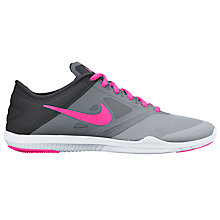 Buy Nike Studio TR 2 Women's Cross Trainers, Wolf Grey/Pink Blast Online at johnlewis.com