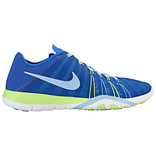 Buy Nike Free TR 6 Women's Cross Trainers, Blue/Green Online at johnlewis.com