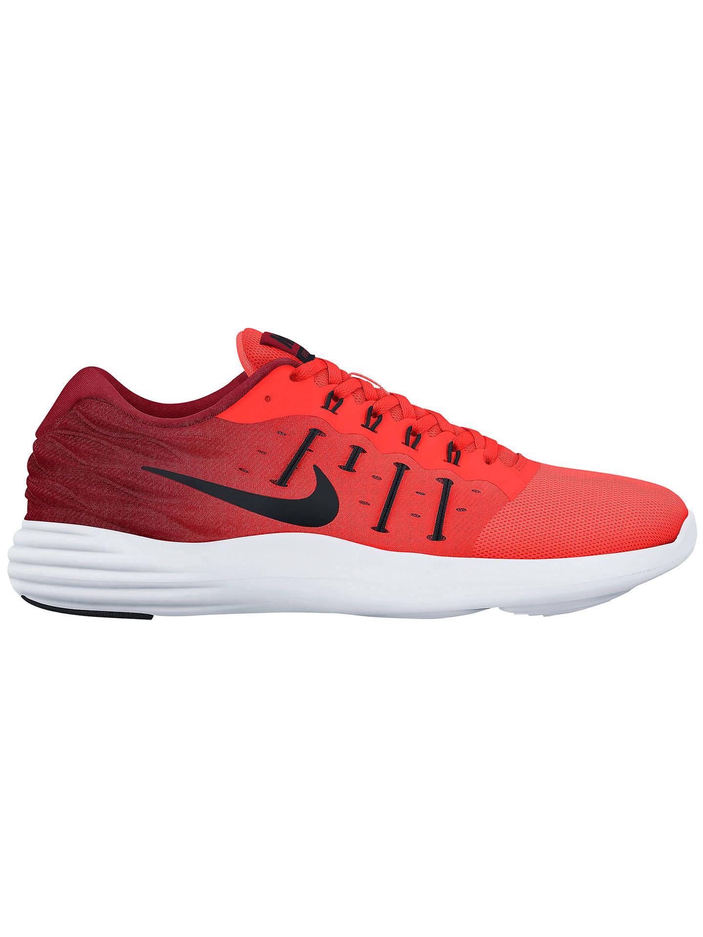 cheap for discount e4fb1 e20f3 Buy Nike LunarStelos Women s Running Shoes, Total Crimson Black, 5 Online  at johnlewis ...