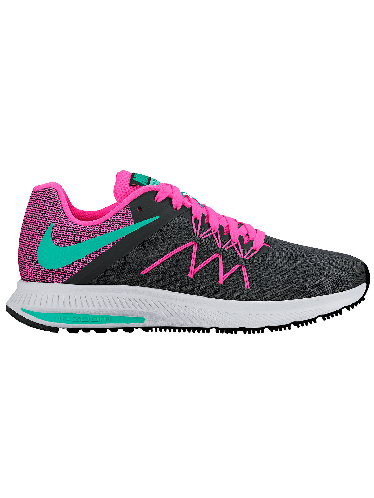 separation shoes e458d 421d4 Buy Nike Air Zoom Winflo 3 Women s Running Shoes, Black Multi, 4 Online ...