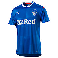 Buy Puma Glasgow Rangers FC 2016/17 Home Football Shirt, Blue Online at johnlewis.com