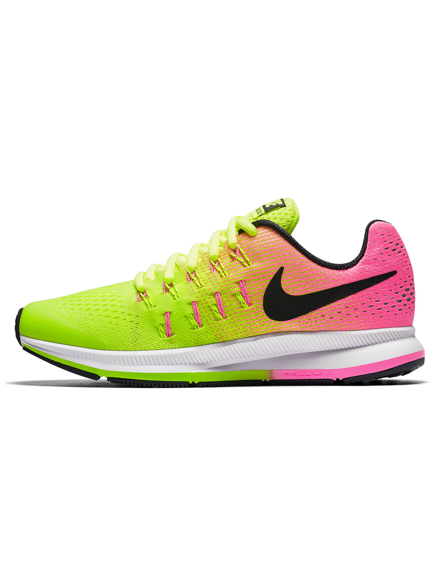 ... BuyNike Childrens Air Zoom Pegasus 33 Running Shoes, VoltPink Blast,  1 Online