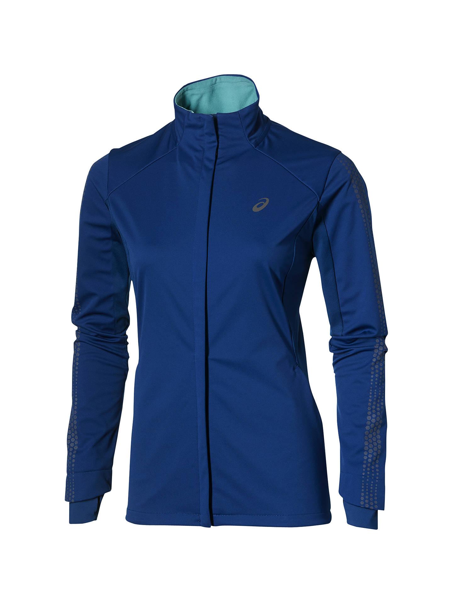 Asics Liteshow Winter Women's Jacket, Blue at John Lewis