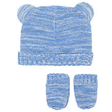 Buy John Lewis Baby Hat and Mittens Set Online at johnlewis.com