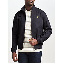Buy Lyle & Scott Harrington Jacket, Navy Online at johnlewis.com