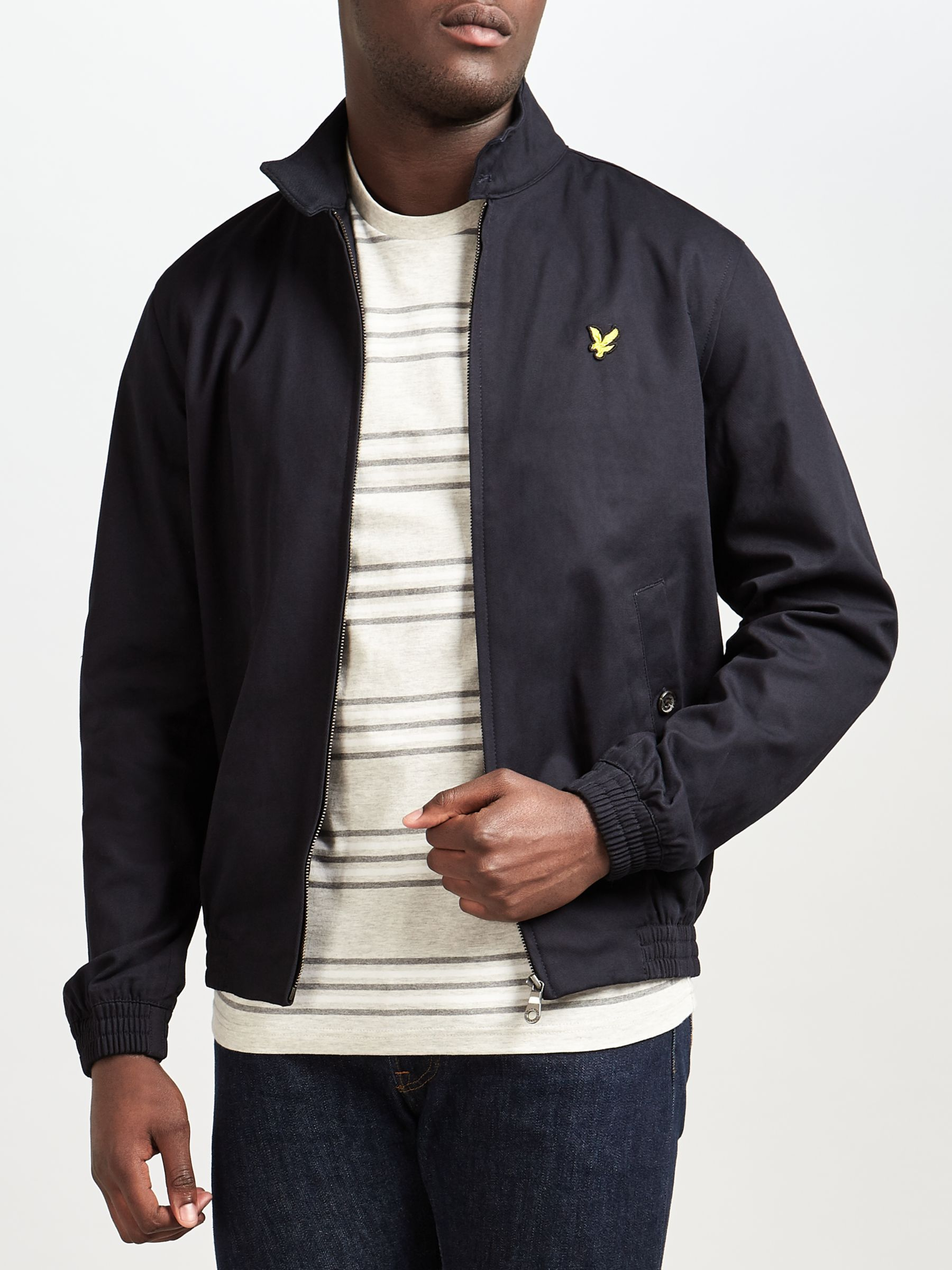Lyle & Scott Lyle & Scott Harrington Jacket, Navy