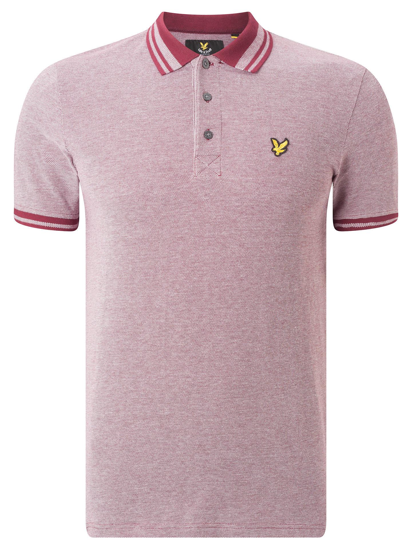 1332d35c88a9 BuyLyle   Scott Oxford Polo Shirt