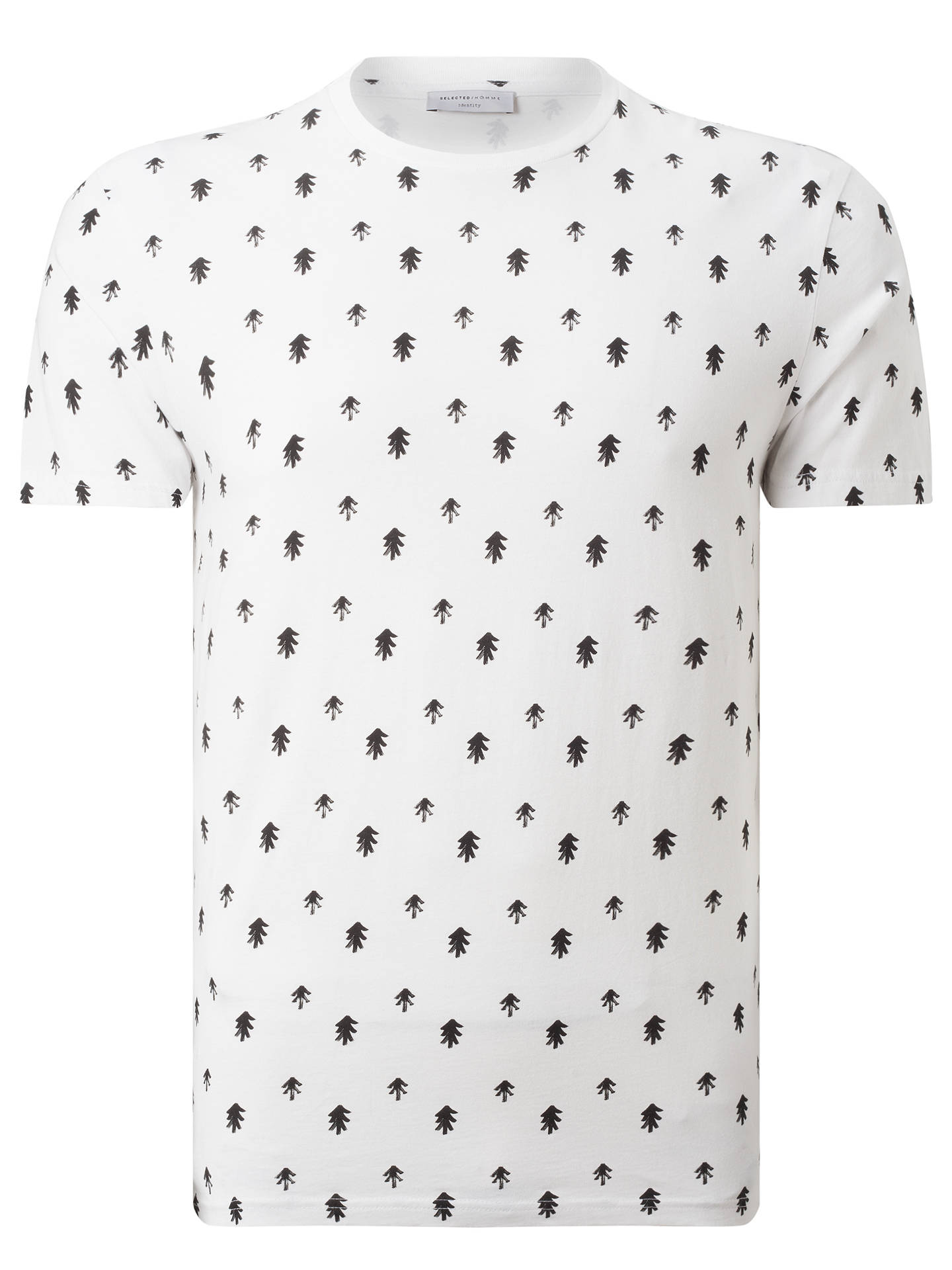 43028723983be Buy Selected Homme Three All-Over Print Short Sleeve T-Shirt