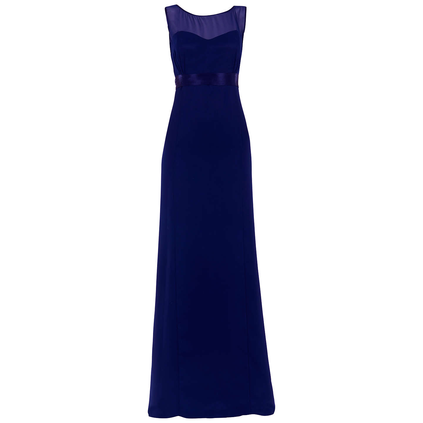 BuyMaids to Measure Charlotte Fitted Dress, Midnight, 8 Online at johnlewis.com